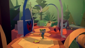 Tearaway was a great game with a great ending.